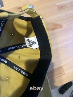 ARCTERYX X Palace Limited TRUCKER HAT Gold ADJUSTABLE SNAPBACK CAP