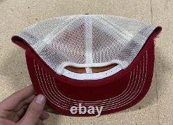 BOOMTOWN K Brand Vintage 70's Trucker Hat Cap Snapback Mesh PLEASE READ