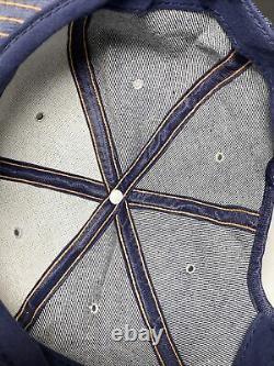 Blaw-Knox Patch Snapback Denim Louisville MFG Trucker Hat Vintage USA Farm Cap