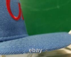 Houston Oilers snapback trucker cap hat vintage script Sports Specialties NFL
