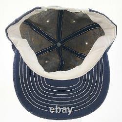 JOHN DEERE TRUCKER HAT Vintage Louisville Denim Adjustable Snapback Cap Patch