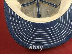 John Deere Component Works LOUISVILLE Denim Trucker Cap Hat Vintage Snapback JD