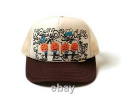 Kapital knee Kid 2TONE truck cap hat trucker beige brown new
