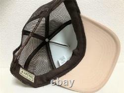 Kapital knee Kid 2TONE truck cap hat trucker brown beige new