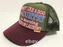 Kapital kountry WORKING PUKING PT 2TONE truck cap hat trucker khaki enji