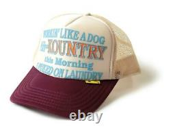 Kapital kountry WORKING PUKING PT 2TONE truck cap hat trucker kinari engi