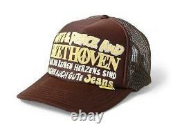 Kapital kountry love&peace beethoven truck cap hat trucker brand new brown