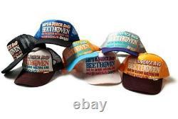 Kapital kountry love&peace beethoven truck cap hat trucker brand new natural