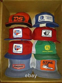 LOT of 24 Vintage Snapback Mesh Trucker Hat Cap K Products LOUISVILLE Made N USA