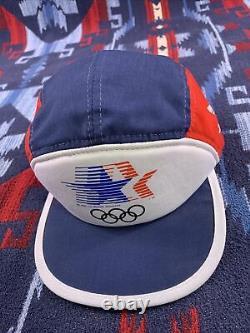 Los Angeles 1984 OLYMPICS Adidas Trucker Hat Vintage Snapback Cap 1980 80s New