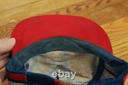 Lot 2 Vintage MADE IN USA 3 STRIPE Pepsi Cola Tucson AZ Trucker Hat Baseball Cap