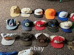 Lot Of 46 Vintage Trucker Hat Snapback Cap Dad Farm Tourist Resellers K Product