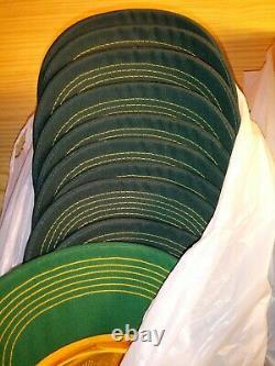 Lot of 22 Vtg Dekalb K-Brand Yellow Farming Snapback Trucker Hat, Cap, Patch