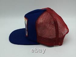 Mint Vintage Kyle Petty 7 Eleven Patch Snapback Trucker Hat Cap Made In The USA