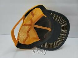 NOS Vintage Ford Tractors Equipment Snapback Trucker Hat Cap 70s RARE K Products