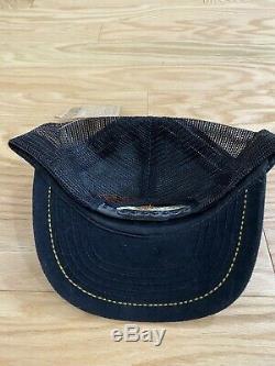 NWT VTG Harley Davidson Motorcycle 50th Daytona Snapback Mesh Trucker Cap Hat