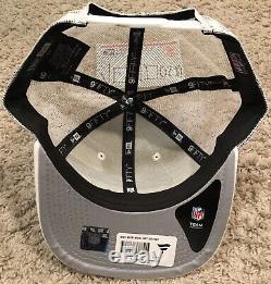 New Era San Francisco 49ers Shanahan white trucker 9FIFTY snapback hat cap niner
