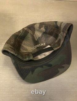RARE Supreme Sidewinder hat trucker cap snapback vintage authentic