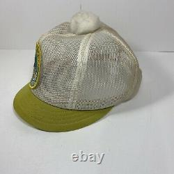 RARE! Vintage Kentucky Derby Patch Horse Race Trucker USA Mesh SnapBack Hat Cap