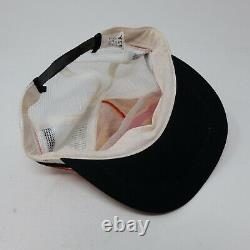 Rare Vintage Motorcraft Quality Parts Striped Trucker Mesh Snapback Hat Cap 90s