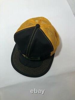Rare Vintage Snapback Mesh Trucker Hat Cap K-BRAND Lynks Seeds Patch USA