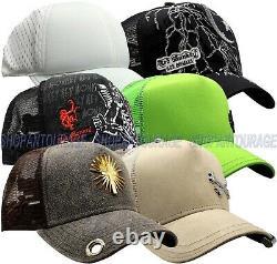 Red Monkey Hat Bundle #5 of 6 pc Limited Edition Unisex Fashion Trucker Cap Hats