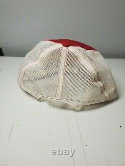 Red Wing Shoes SnapBack Trucker Hat Cap Made In USA Vintage