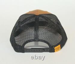 Scotty Cameron Bull Dog Gallery Snapback Trucker Hat Cap Caramel Black New