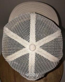 VTG ALLIS CHALMERS 70s 80s USA Louisville MFG CO MESH Trucker Hat Cap Snapback
