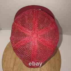 VTG CHEVROLET 70s 80s USA K-Brand K-Products All Mesh Trucker Hat Cap Snapback