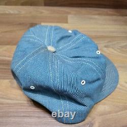 VTG STIHL TRUCKER PATCH HAT CAP K-BRANDS K-Products Denim Snapback CHAINSAW