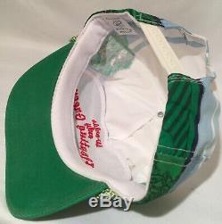 VTG Worlds Only Floating Green SnapBack Sportcap Rope Style Trucker Golf Hat