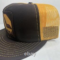 Vintage 70s 80s Louisville USA Lawson Patch Mesh Snapback Trucker Hat Cap Fast