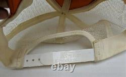 Vintage 80's K Products Stihl Large Patch Mesh Snapback Trucker Hat Cap USA