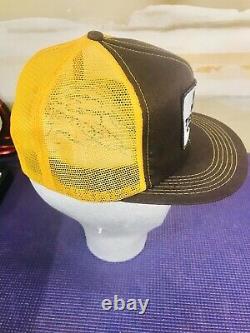 Vintage BACA TELEPHONE Snapback Mesh Trucker Hat Cap K-BRAND Patch USA Product