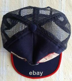 Vintage Born Free Taxed To Death Mesh Trucker Hat Snapback USA Flag Cap