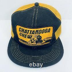 Vintage Chattanooga Chew Mesh Trucker Snapback Hat/Baseball Cap K Brand
