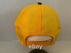 Vintage DEKALB Seed HOBBS K BRAND Full TRUCKER Snapback PATCH Hat Cap RARE VHTF