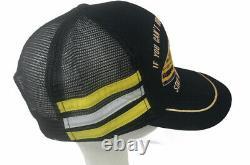Vintage Dale Earnhardt 3 Stripe Snapback Mesh Trucker Hat NASCAR USA Wrangler
