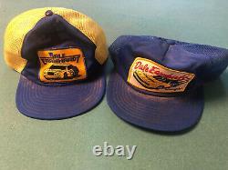 Vintage Dale Earnhardt Snapback Trucker Hat Wrangler NASCAR Cap 3 By Sportswear