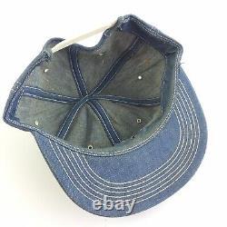 Vintage FORD Tractors Snapback Trucker Hat Patch Cap K Products USA Pima Arizona