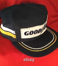 Vintage Goodyear trucker hat cap SnapBack Louisville mint rare 80s racing USA