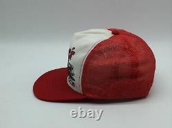 Vintage Hardees Racing Team Snapback Trucker Hat Cap Cale Yarborough Nascar 80s