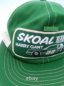 Vintage Harry Gant Skoal Bandit K-Products Mesh Trucker Snapback Patch Hat