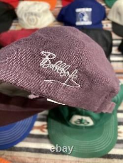 Vintage Hat Lot Of 20 Seed Patch Cat Snapback 80s 90s Trucker Baseball Cap K