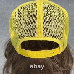 Vintage John Deere Mesh Snapback Patch Hat Cap K-products Trucker Hat Big Patch