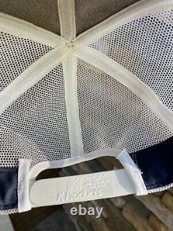 Vintage John Deere Patch K-Products Brand Snapback Mesh Trucker Hat Denim Cap