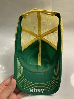 Vintage John Deere Trucker Hat Patch Snapback Cap K Brand Products