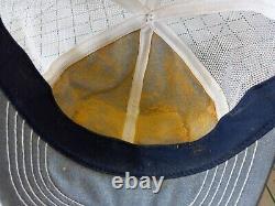 Vintage K Products K Brand Stihl Patch Snapback Trucker Hat Cap USA