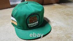 Vintage Kodiak Racing 3-stripe Trucker Snapback Mesh Patch Cap Hat K Products